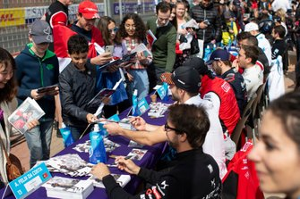 Fans at the autograph session