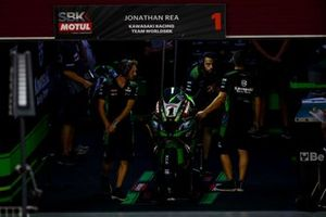 Jonathan Rea, Kawasaki Racing Team garage