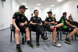 Jonathan Rea, Kawasaki Racing Team, Yoda, Leon Haslam, Kawasaki Racing Team