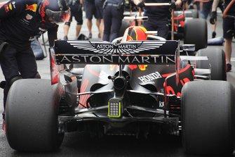 Red Bull Racing RB15, dettaglio del posteriore
