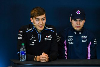 Press conference, George Russell, Williams Racing, and Lance Stroll, Racing Point