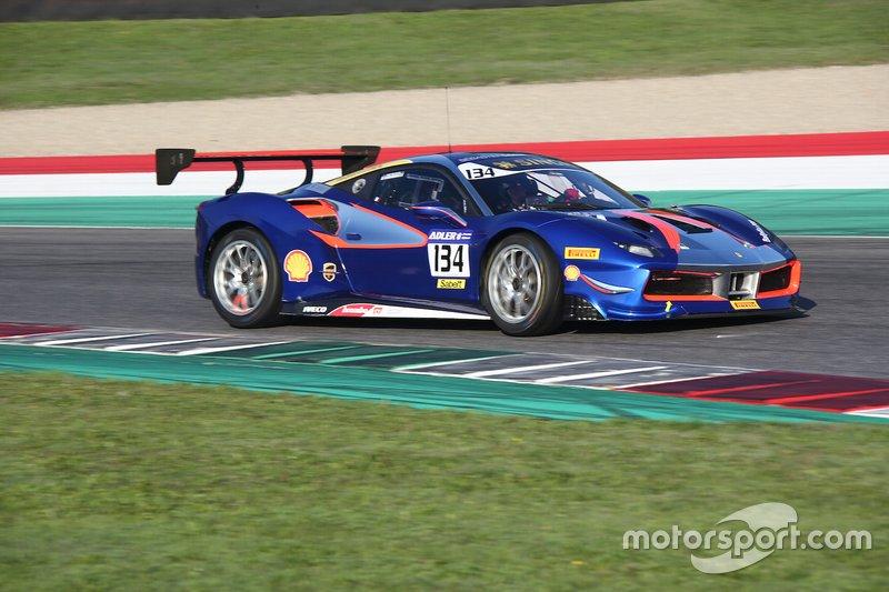 #134 Ferrari 488 Challenge, Modena Motors - SLR: Alex Fox