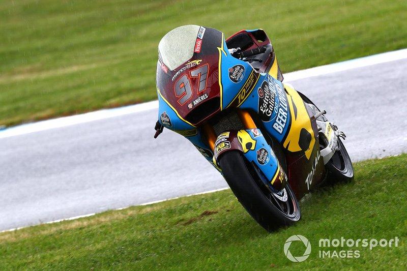 Xavi Vierge, Marc VDS Racing crash