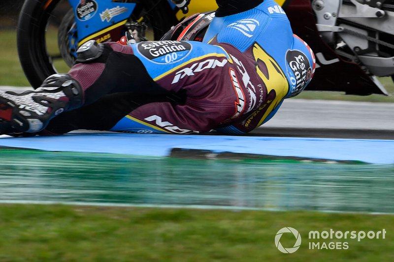 Xavi Vierge, Marc VDS Racing crashes