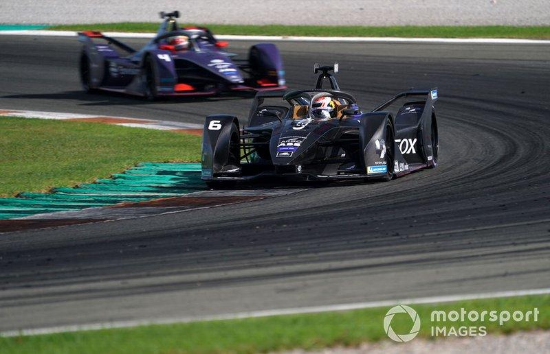 Brendon Hartley, Dragon Racing, Penske EV-4 Robin Frijns, Envision Virgin Racing, Audi e-tron FE06
