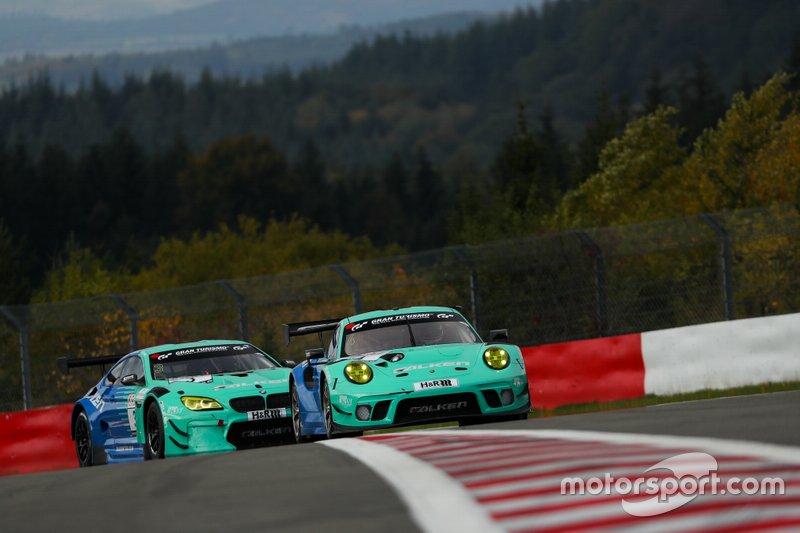 #4 Falken Motorsports Porsche 911 GT3 R: Klaus Bachler, Martin Ragginger