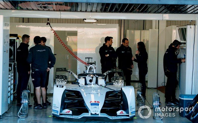 Felipe Massa's, Venturi, EQ Silver Arrow 01