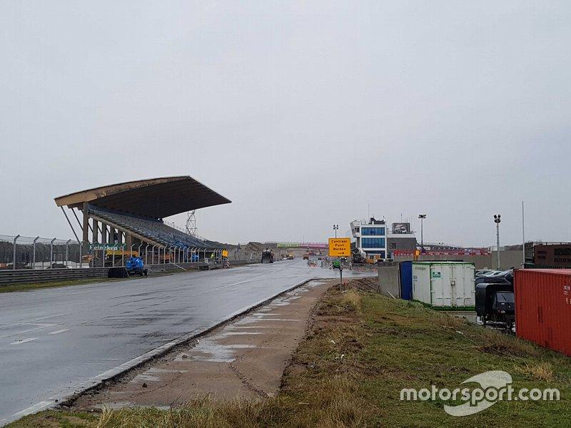 Obras en el circuito de Zandvoort