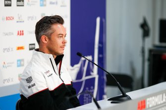 Andre Lotterer, Porsche in the press conference