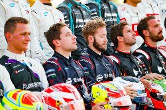 Robin Frijns, Virgin Racing, Sam Bird, Virgin Racing à la photo des pilotes