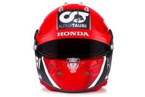 Helmet of Pierre Gasly, AlphaTauri