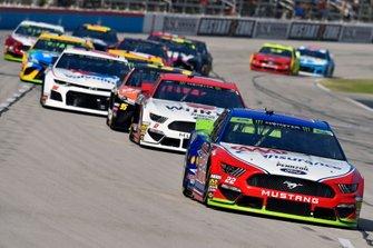 Joey Logano, Team Penske, Ford Mustang AAA Insurance and Brad Keselowski, Team Penske, Ford Mustang Wurth
