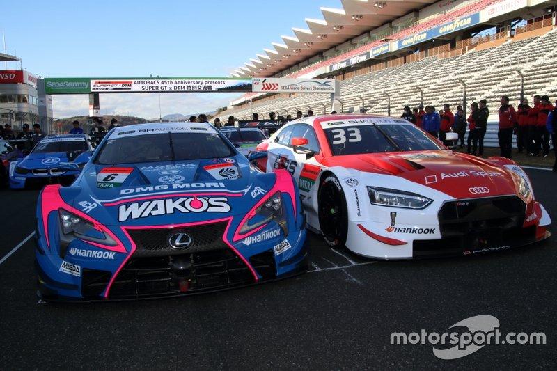 #6 WAKO'S 4CR LC500, #33 Audi Sport RS 5 DTM