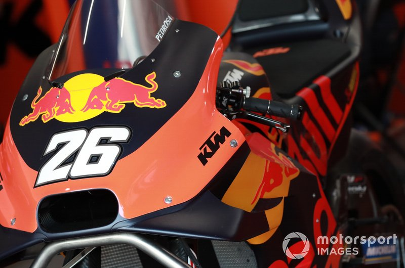 Moto di Dani Pedrosa, Red Bull KTM Factory Racing