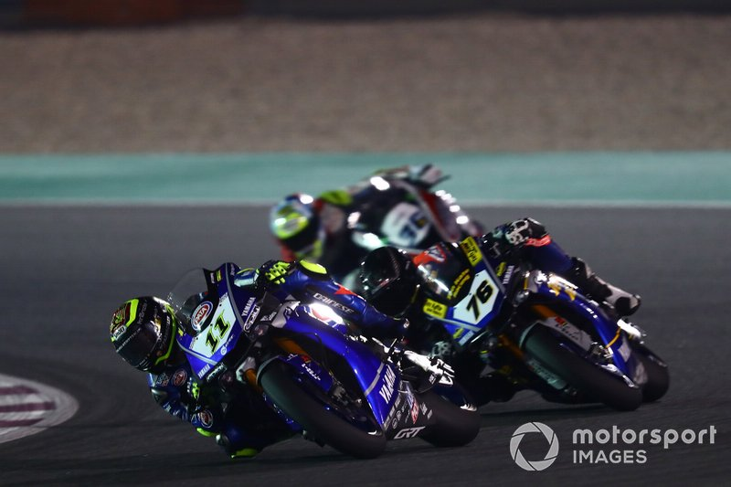 Sandro Cortese, GRT Yamaha WorldSBK, Loris Baz, Ten Kate Racing Yamaha