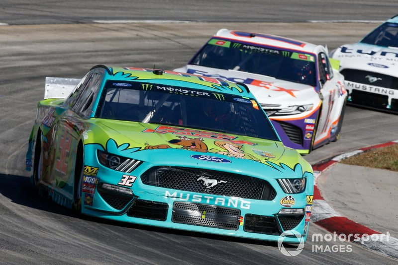 Corey LaJoie, Go FAS Racing, Ford Mustang CorvetteParts.net