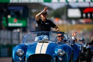 Kevin Magnussen, Haas F1, in the drivers parade