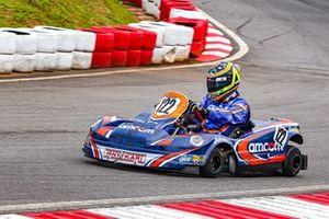 André Nicastro - atual campeão das 500 Milhas de Kart