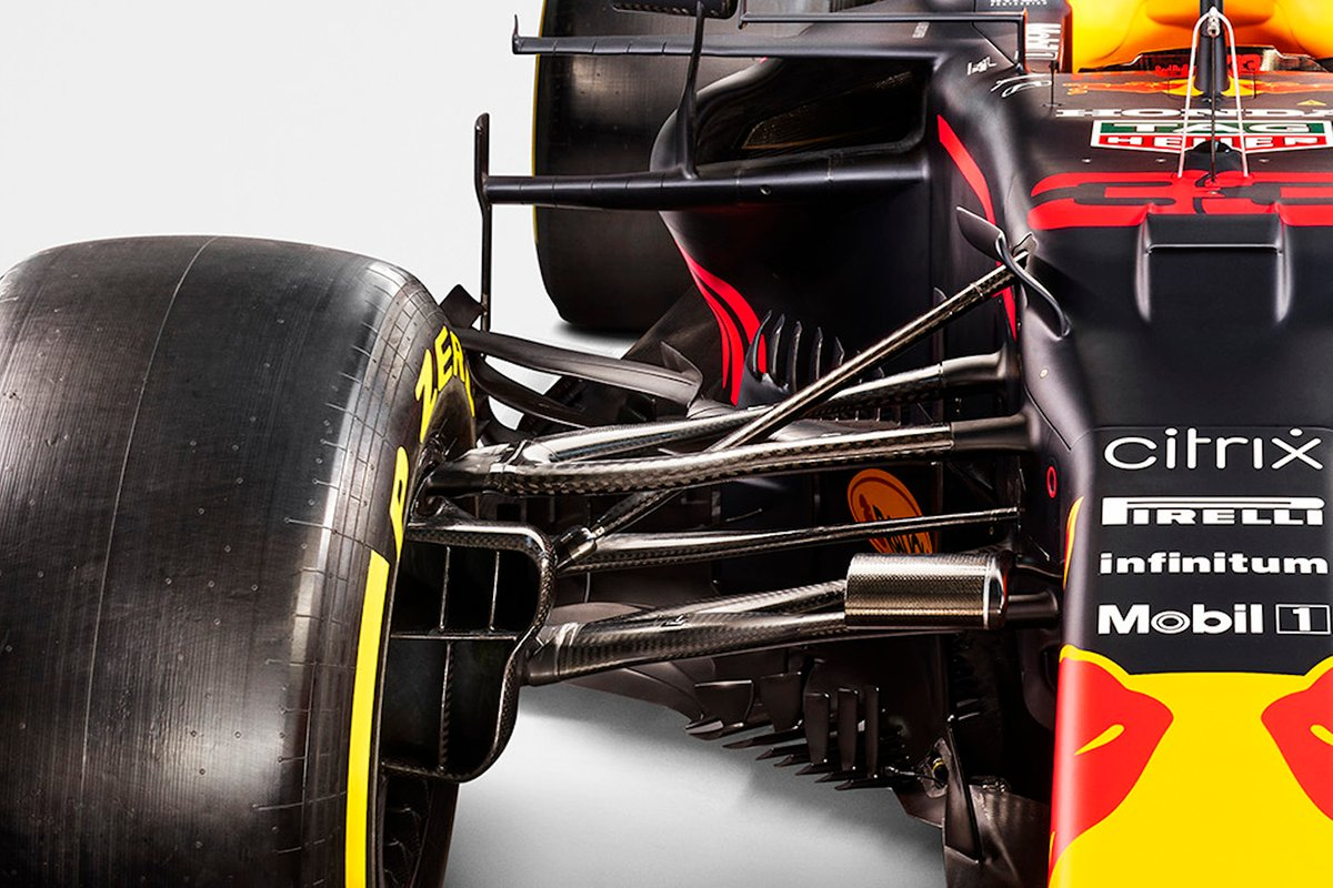 Detalle del Red Bull Racing RB16B
