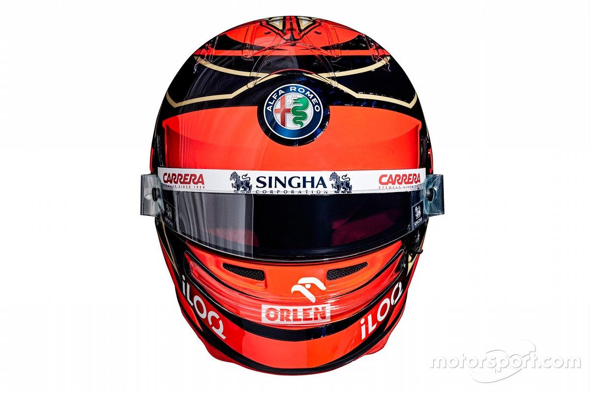 Casque de Kimi Raikkonen, Alfa Romeo Racing