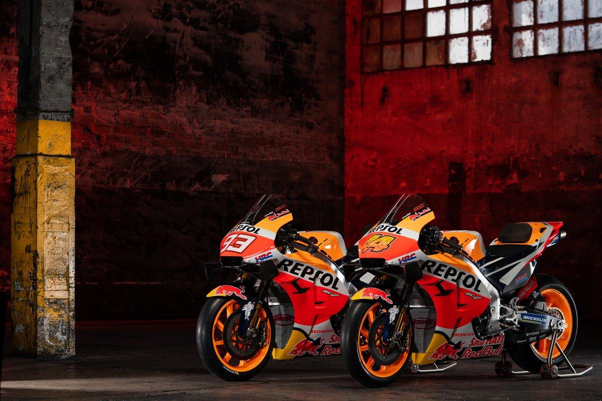 Bikes of Marc Marquez, Repsol Honda Team, Pol Espargaro, Repsol Honda Team