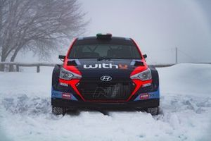 Umberto Scandola e Guido D'Amore, Team Hyundai Rally italia, Hyundai i20 New Generation R5