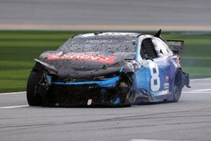 Tyler Reddick, Richard Childress Racing, Chevrolet Camaro Lenovo, dopo l'incidente