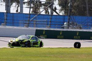 #12 VasserSullivan Lexus RC F GT3, GTD: Frankie Montecalvo, Robert Megennis, Townsend Bell, Zach Veach