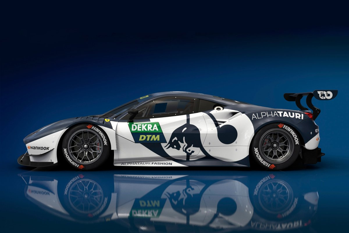 AF Corse Alpha Tauri design for Alex Albon and Nick Cassidy