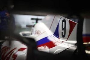 Nikita Mazepin, Haas VF-21 rear wing