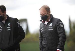Valtteri Bottas, Mercedes track walk