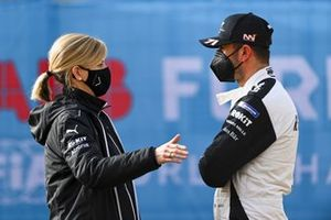 Susie Wolff, Team Principal, Venturi, with Norman Nato, Venturi Racing
