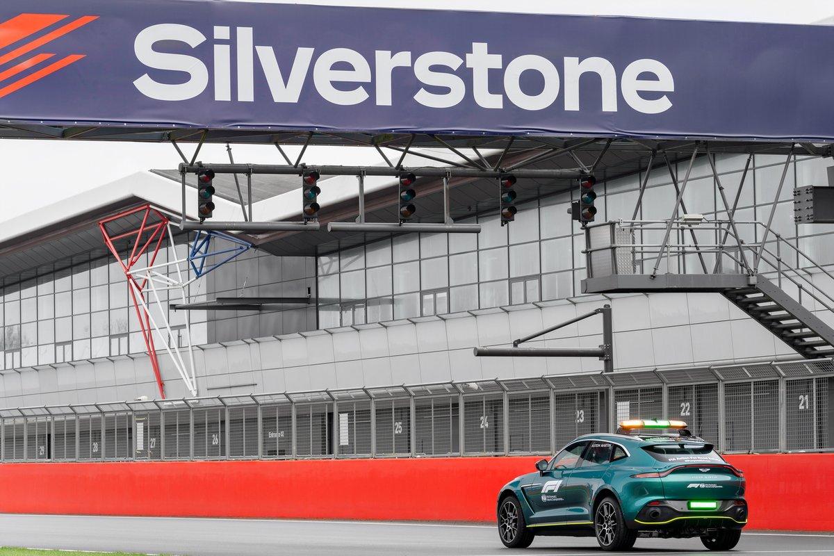 Medical Car Aston Martin per la Formula 1