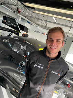 Bruno Baptista no circuito de Paul Ricard nos testes com a Get Speed Performance, a sua nova equipe no GT World Challenge Endurance Cup 2021