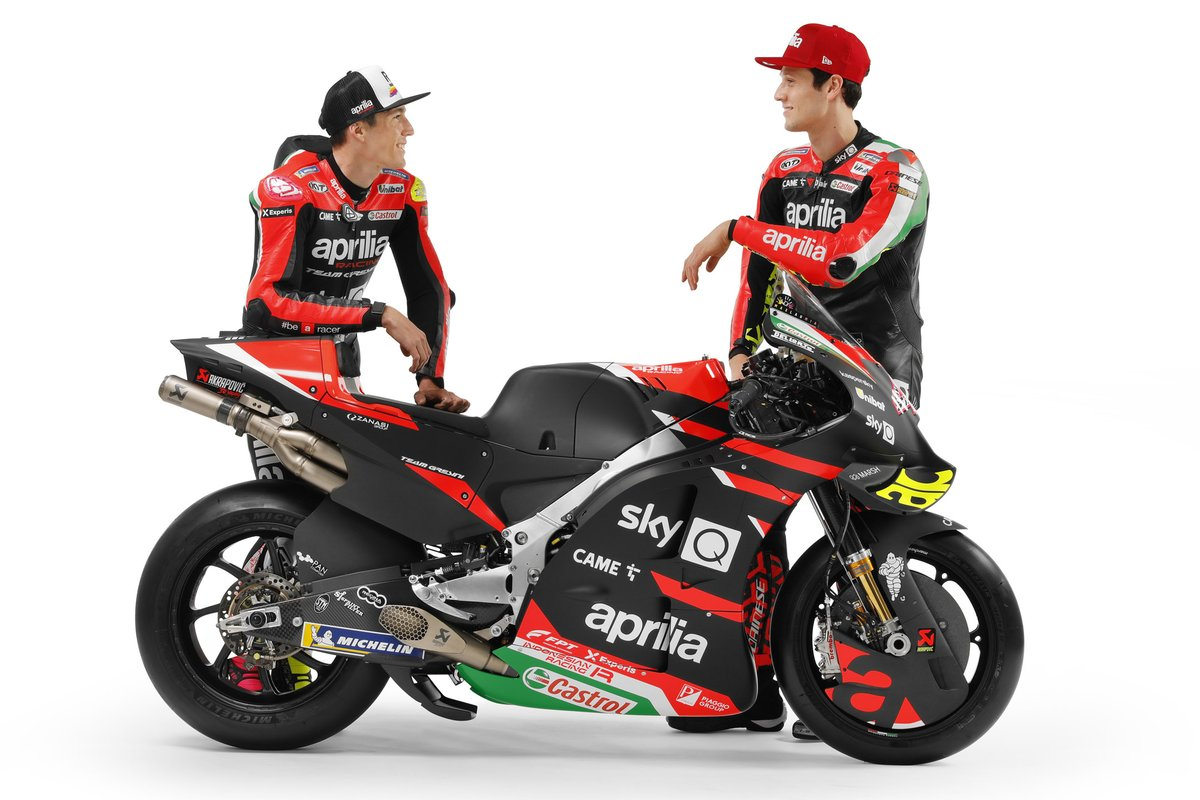 Aleix Espargaro and Lorenzo Savadori, Aprilia Racing Team Gresini