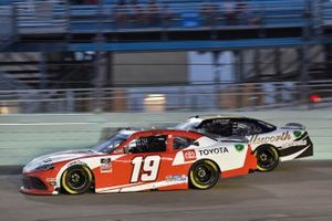 Brandon Jones, Joe Gibbs Racing, Toyota Supra Toyota, A.J. Allmendinger, Kaulig Racing, Chevrolet Camaro Ellsworth Advisors