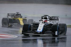 George Russell, Williams FW43, Daniel Ricciardo, Renault F1 Team R.S.20