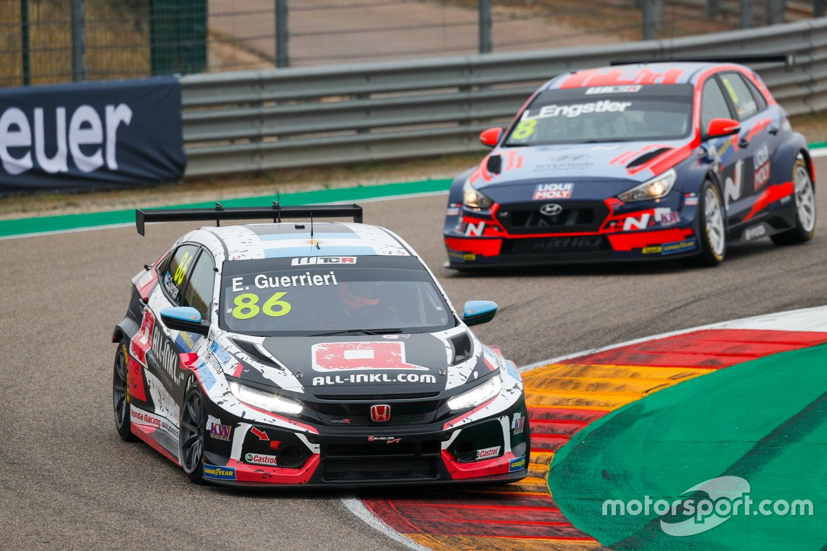 Esteban Guerrieri, ALL-INKL.COM Münnich Motorsport Honda Civic TCR