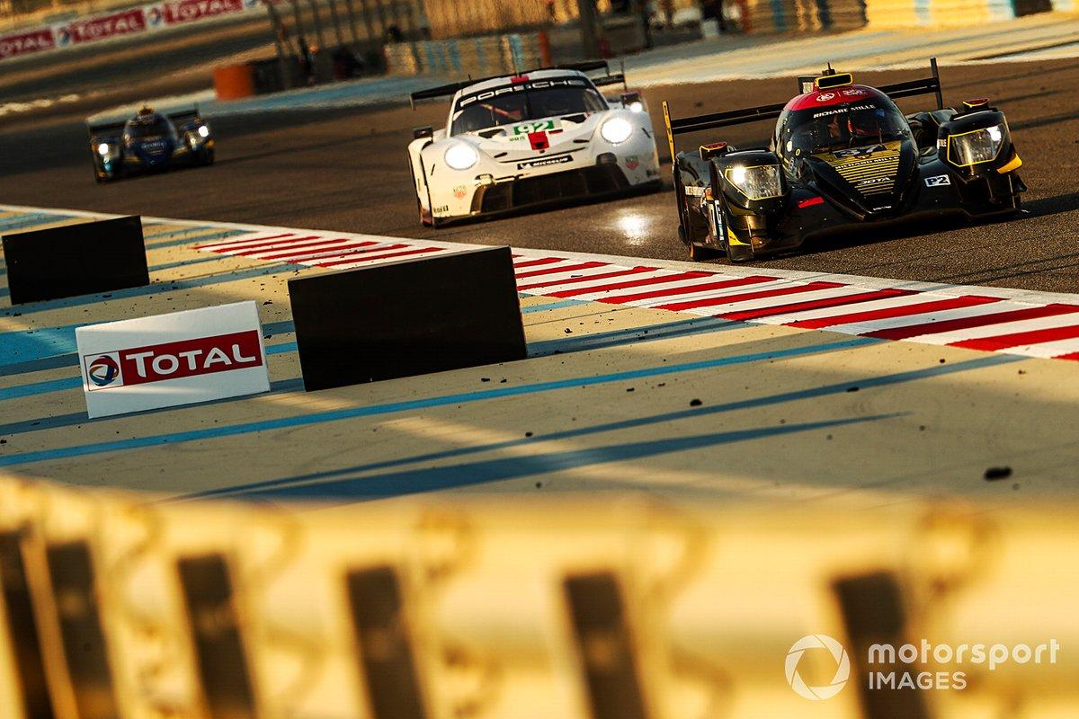 #37 Jackie Chan DC Racing Oreca 07: Ho-Pin Tung, Gabriel Aubry, Will Stevens, #92 Porsche GT Team Porsche 911 RSR: Michael Christensen, Kevin Estre