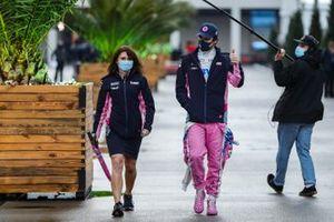 Pole man Lance Stroll, Racing Point