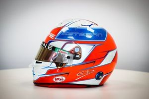 Casque d'Esteban Ocon, Alpine