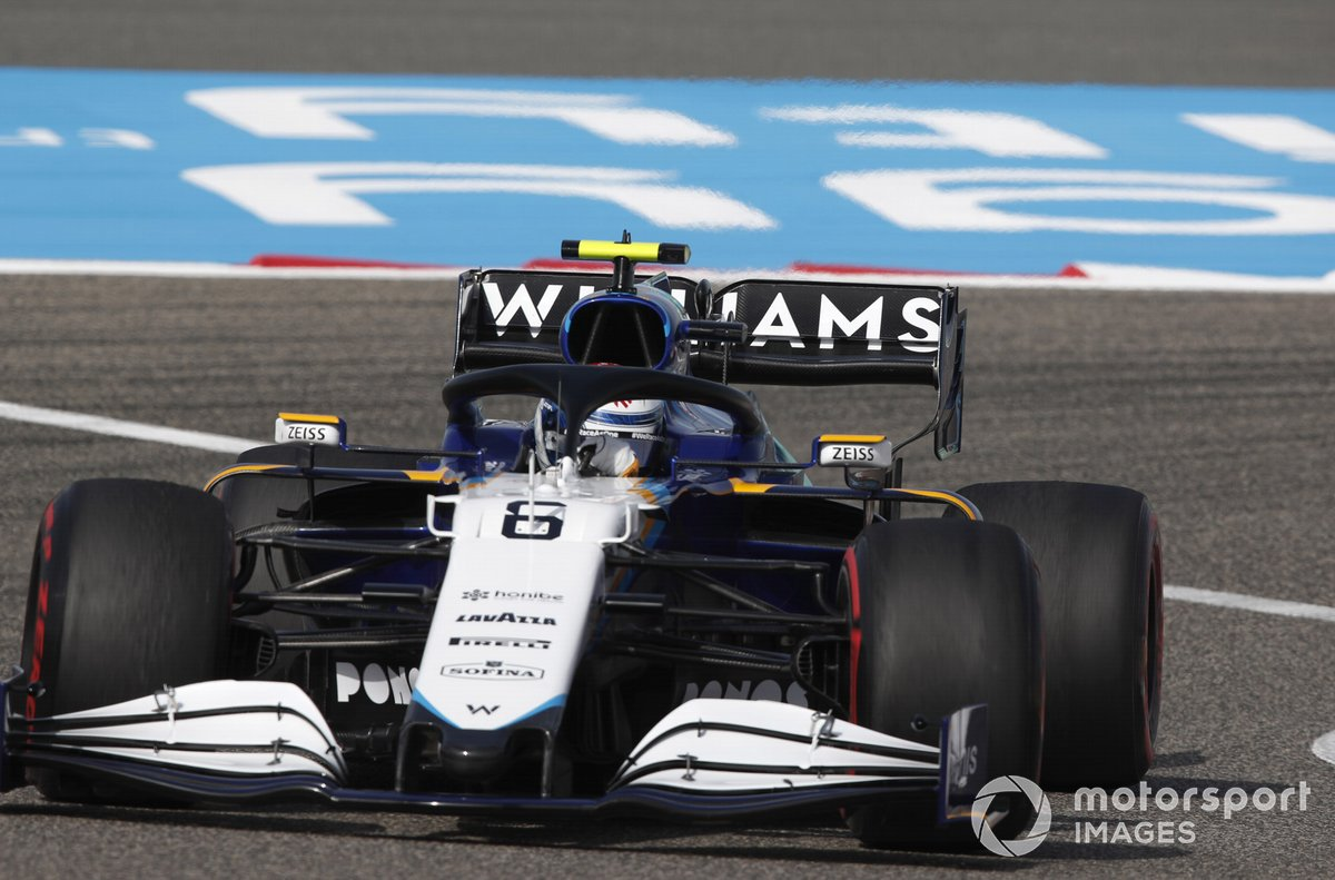 Nicholas Latifi, Williams FW43B