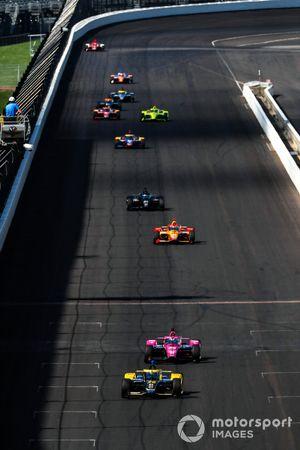 Colton Herta, Andretti Autosport Honda, Jack Harvey, Meyer Shank Racing Honda