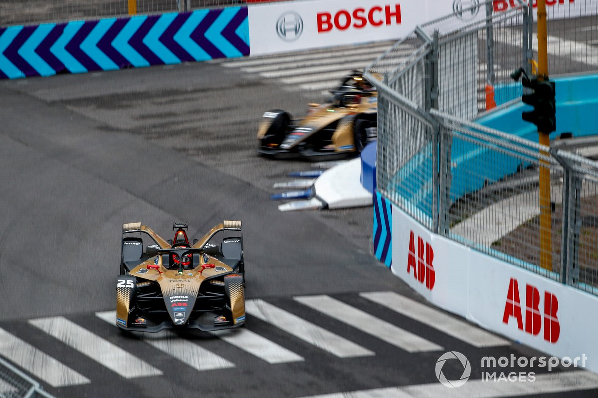 Jean-Eric Vergne, DS Techeetah, DS E-Tense FE21, Antonio Felix da Costa, DS Techeetah, DS E-Tense FE21