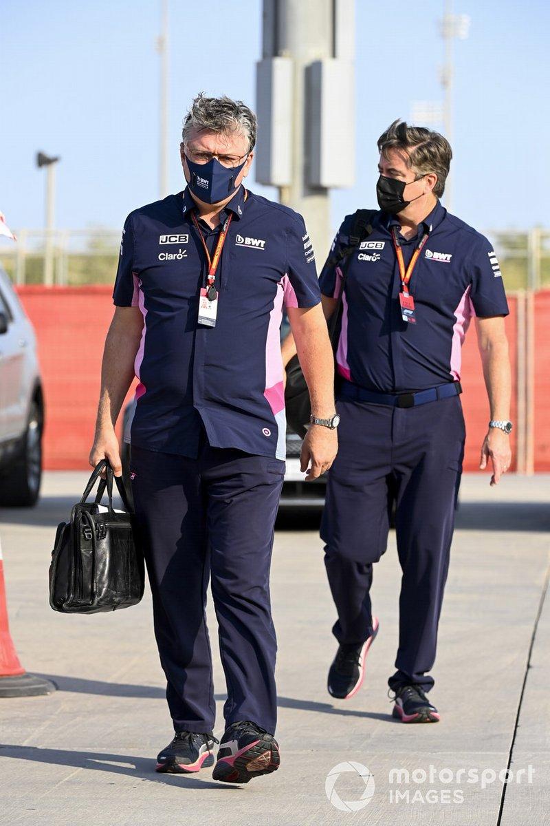 Otmar Szafnauer, Team Principal y CEO, Racing Point