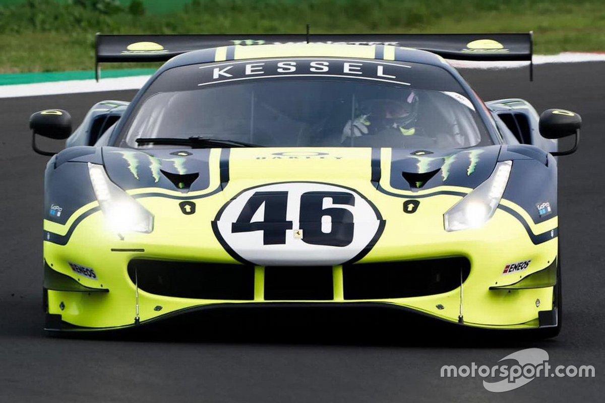 Valentino Rossi, Kessel Racing Ferrari 488 GT3