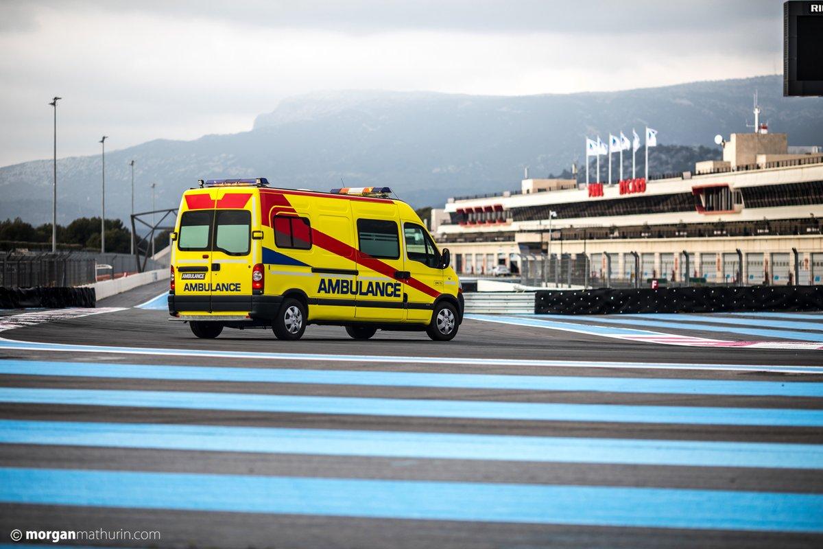 Simulacro y test de seguridad en el circuito Paul Ricard