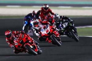 Francesco Bagnaia, Ducati Team, Johann Zarco, Pramac Racing, Maverick Vinales, Yamaha Factory Racing
