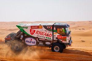 #511 Riwald Dakar Team Renault: Gert Huzink, Rob Buursen, Martin Roesink