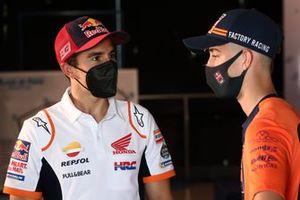 Marc Marquez, Repsol Honda Team, Pedro Acosta, Red Bull KTM Ajo